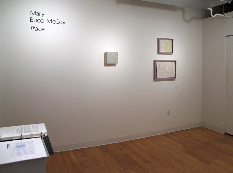 Trace installation view